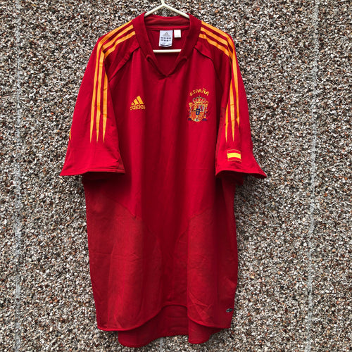 2004 2006 Spain home football shirt - XL