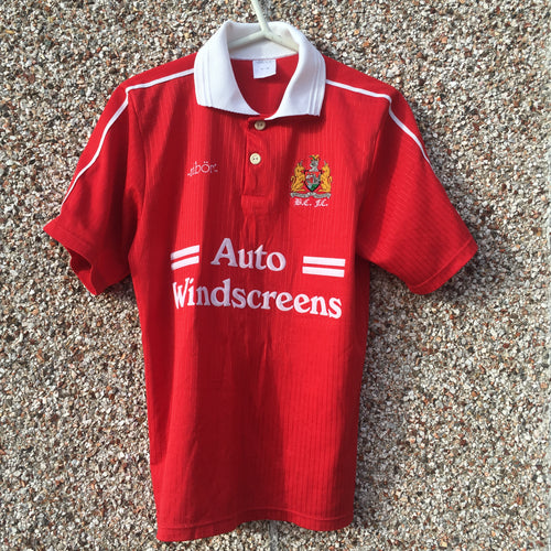 1994 1996 Bristol City Home Football Shirt - S