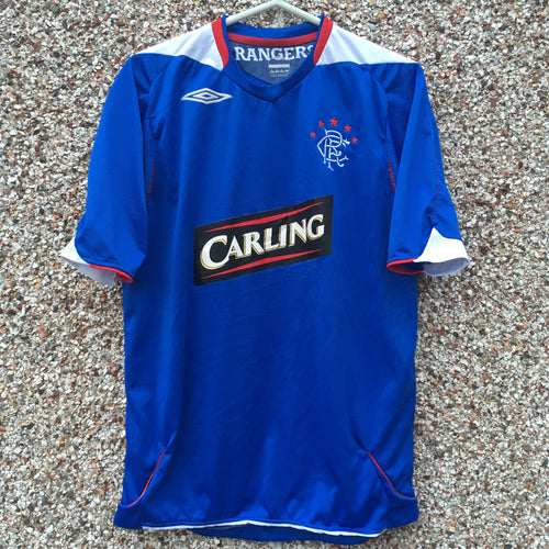 2007 2008 Rangers home Football Shirt - M