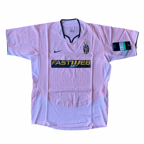 2003 04 JUVENTUS FOOTBALL SHIRT *BNWT* - XSB