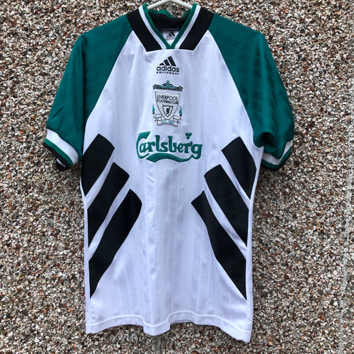 1993 1995 Liverpool Away Football Shirt - S