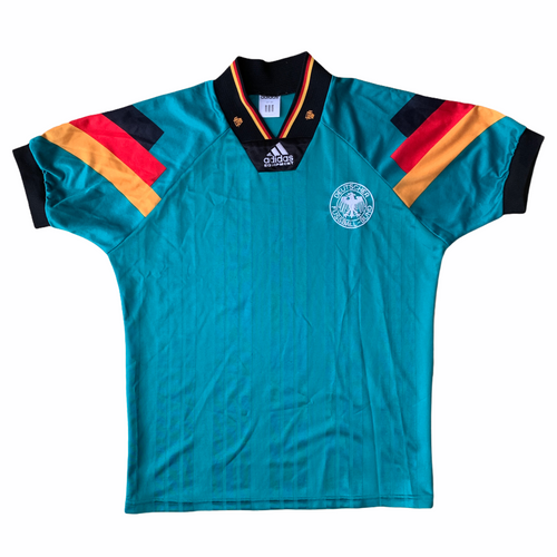 1992 94 GERMANY AWAY FOOTBALL SHIRT - S