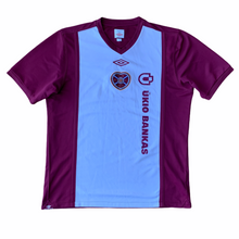 2010 11 HEART OF MIDLOTHIAN HOME FOOTBALL SHIRT - L
