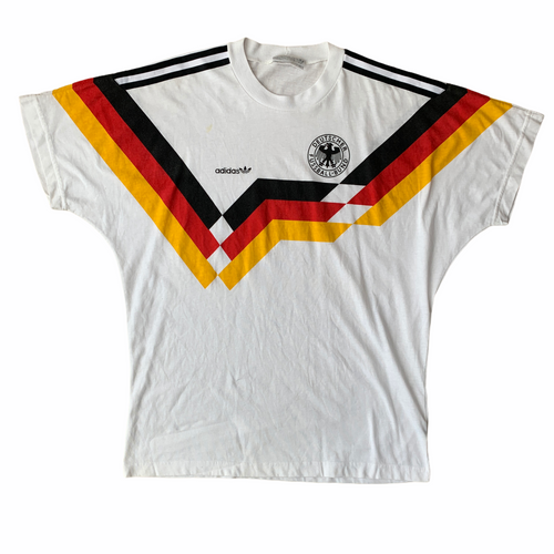 1990 92 WEST GERMANY COTTON T-SHIRT - L