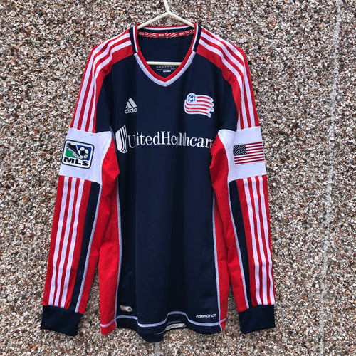 2012 2014 New England Revolution Player Issue Football Shirt - M