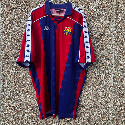 1992 1995 Barcelona home Football Shirt - XL