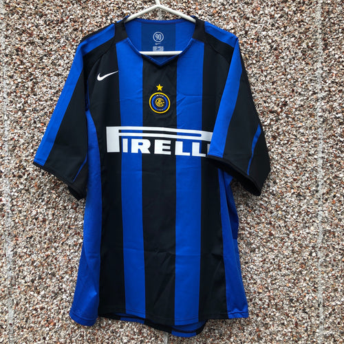 2004 2005 Inter Milan home football shirt - XL