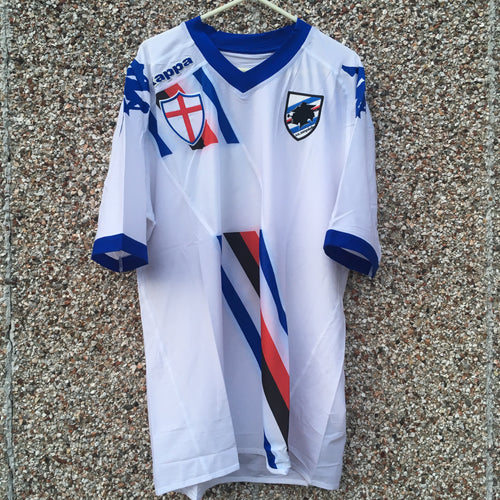 2010 2012 Sampdoria Away Football Shirt BNWT - XL