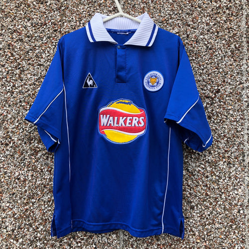 2000 01 LEICESTER CITY HOME FOOTBALL SHIRT - S