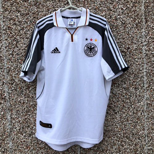 2000 2002 Germany home football shirt - M