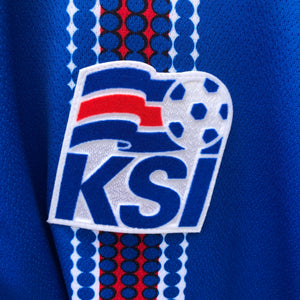 2016 2017 Iceland home football shirt - S