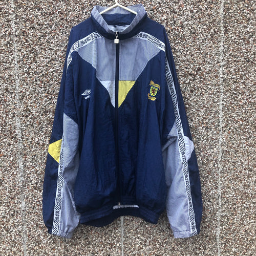 1990 1992 Scotland home Track Jacket - XL