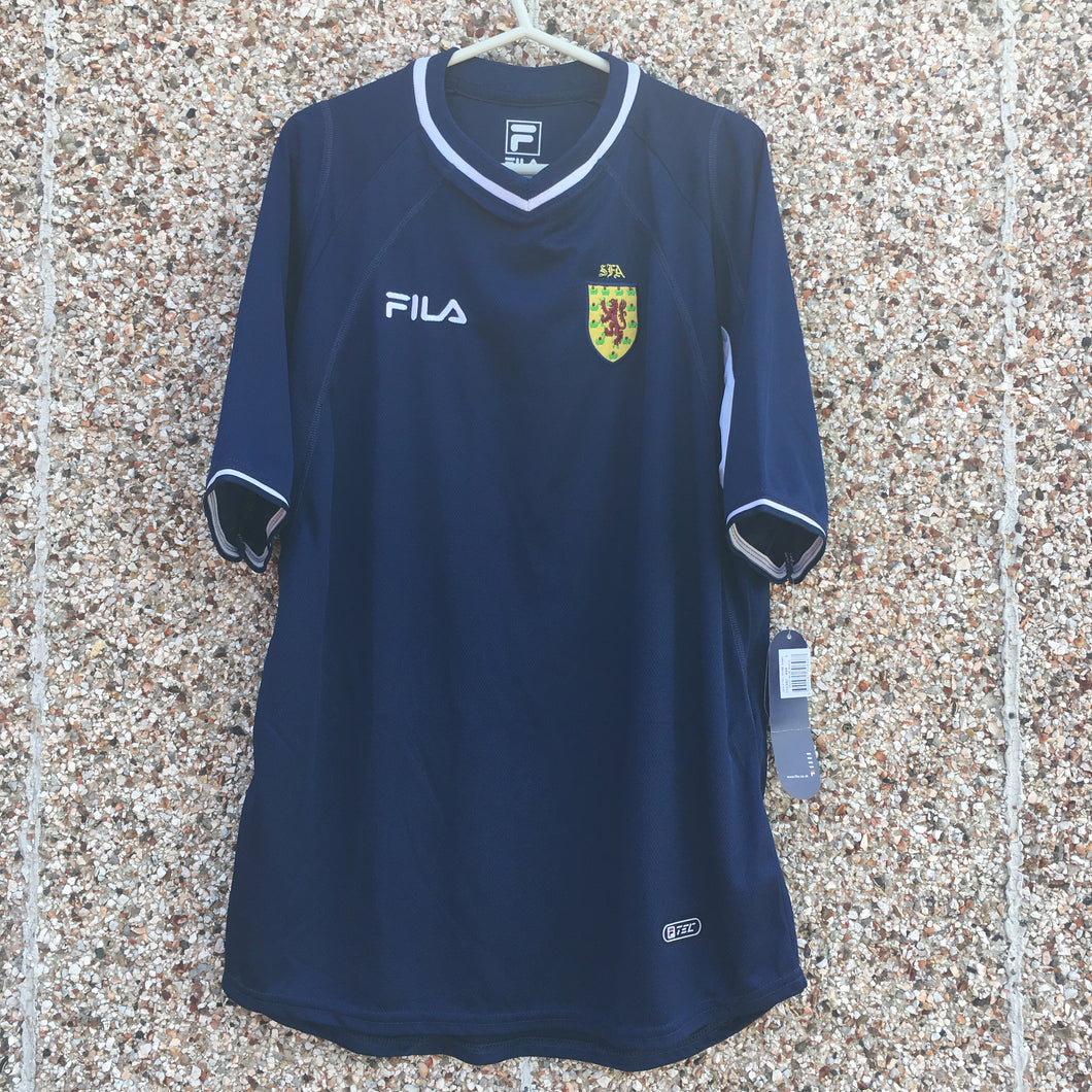 2000 2002 Scotland home football shirt *new* - L