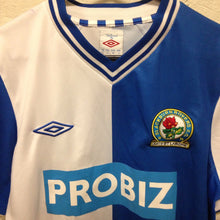2012 13 BLACKBURN ROVERS HOME FOOTBALL SHIRT - S