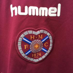 2006 2007 Heart of Midlothian home Football Shirt - M