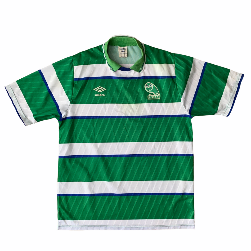 SOLD 1988 90 SHEFFIELD WEDNESDAY AWAY SHIRT - M