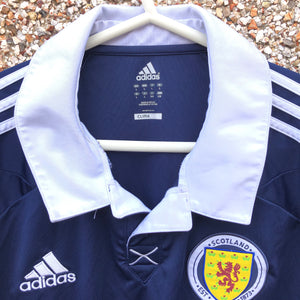 2011 2013 Scotland home Football Shirt LS Long Sleeved - L