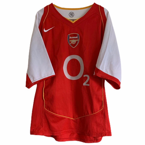 2004 2005 Arsenal home football shirt - M