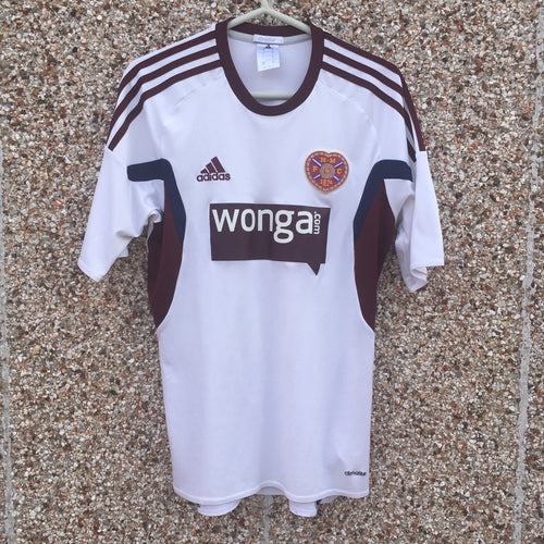 2013 2014 Heart of Midlothian Away Football Shirt - S