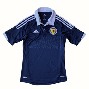 2011 13 SCOTLAND HOME FOOTBALL SHIRT - M