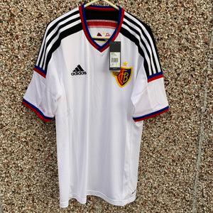 2014 16 FC BASEL PLAYER ISSUE AWAY FOOTBALL SHIRT *BNWT* - S