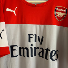 2014 2015 ARSENAL TRAINING FOOTBALL SHIRT - L