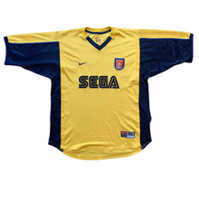 1999 01 ARSENAL AWAY FOOTBALL SHIRT - XL
