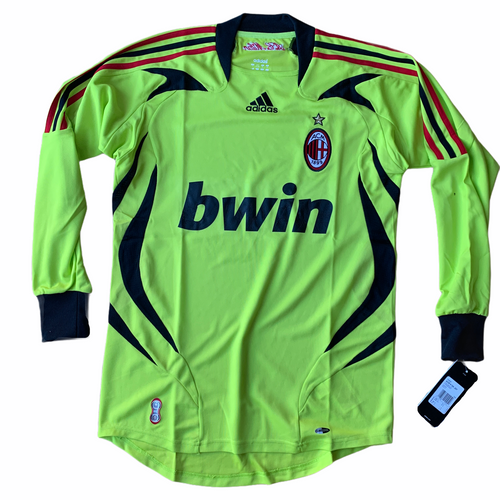 2007 08 AC MILAN GK GOALKEEPER FOOTBALL SHIRT *BNWT* - S