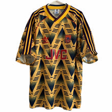 1991 1993 Arsenal away Football Shirt - L