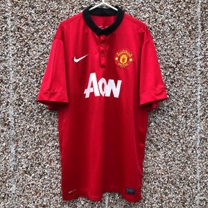 2013 2014 Manchester United home Football Shirt - XL