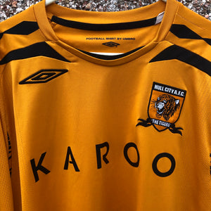 2007 2008 Hull City L/S home football shirt - L
