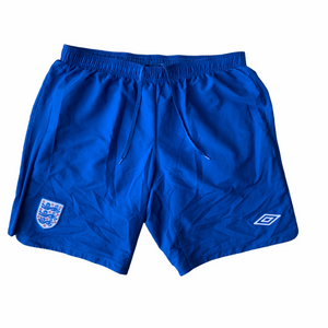 2010 12 ENGLAND HOME SHORTS - XL