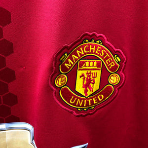 2016 2017 Manchester United home Football Shirt - L