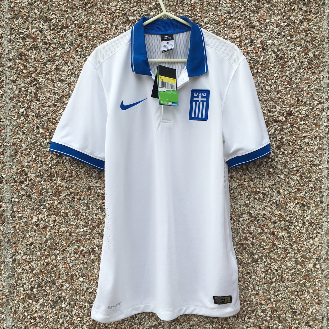 2014 2015 Greece PLAYER ISSUE home Football Shirt *new* - S