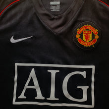 2007 08 MANCHESTER UNITED AWAY FOOTBALL SHIRT - S