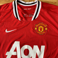 2011 12 MANCHESTER UNITED L/S HOME FOOTBALL SHIRT - L