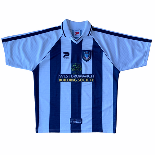 1998 00 WEST BROM HOME FOOTBALL SHIRT - L