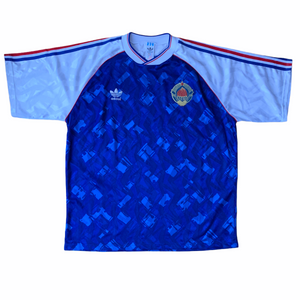 SOLD 1991 92 YUGOSLAVIA HOME FOOTBALL SHIRT - XL