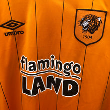 2015 2016 Hull City L/S home football shirt - M