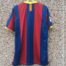 2010 2011 Barcelona Home Football Shirt - M