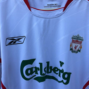2005 2006 Liverpool away LS Football Shirt - L