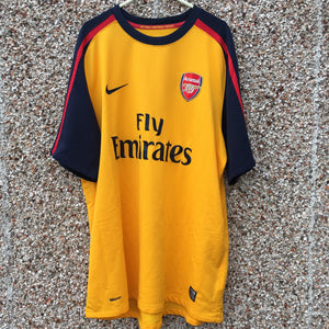 2008 2009 Arsenal away Football Shirt - XL