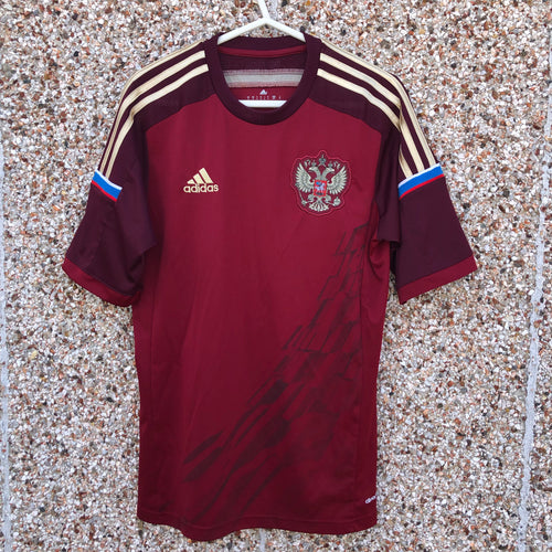 2014 2015 Russia home Football Shirt - S