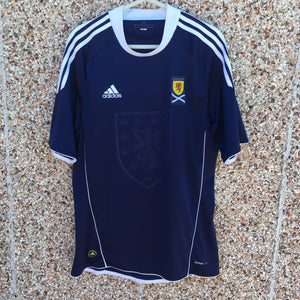 2010 2011 Scotland home Football Shirt - L