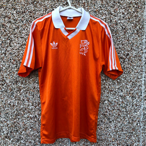 1990 1992 Holland home football shirt - M