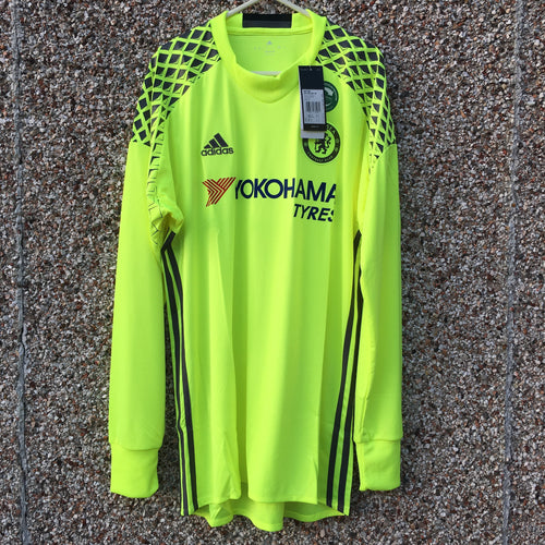 2016 2017 Chelsea GK Goal Keeper Football Shirt - M