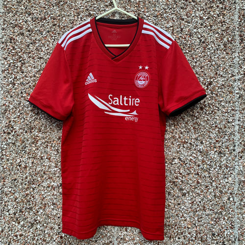 2018 2019 ABERDEEN HOME FOOTBALL SHIRT - M