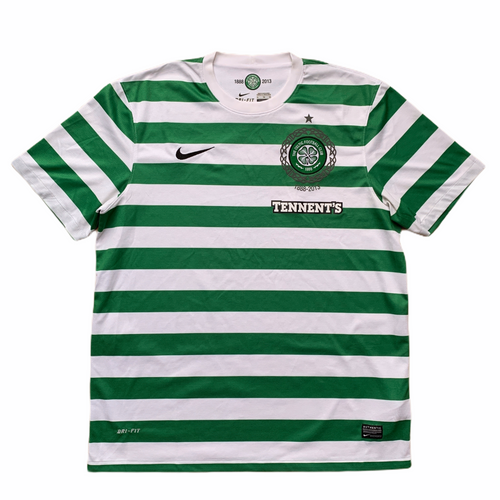 2012 13 CELTIC HOME FOOTBALL SHIRT - XL