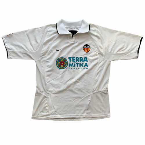 2002 03 VALENCIA HOME FOOTBALL SHIRT - XL