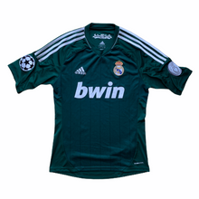 2012 13 REAL MADRID CL THIRD FOOTBALL SHIRT - S
